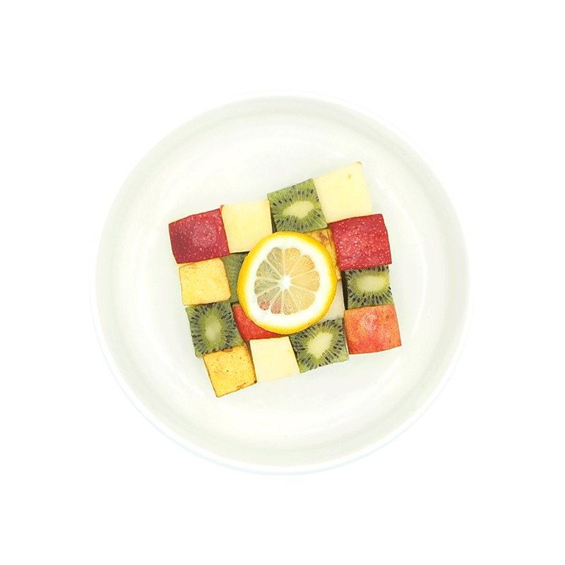 Salade de fruits bio de...