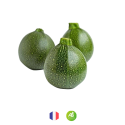 Courgettes Rondes bio (300g)